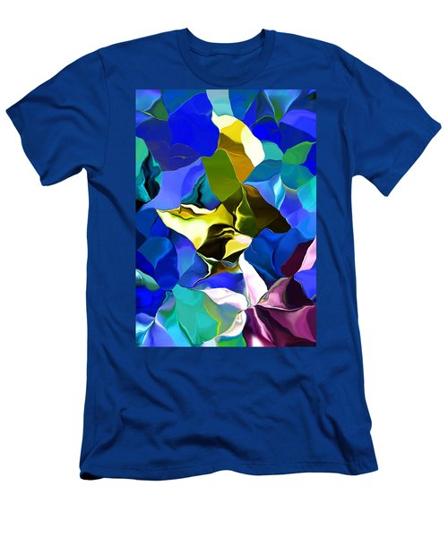 Men's T-Shirt (Slim Fit) featuring the digital art Afternoon Doodle 020215 by David Lane