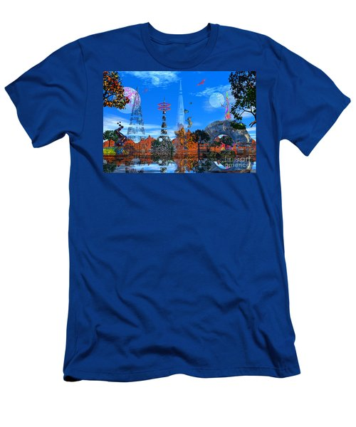 Men's T-Shirt (Slim Fit) featuring the photograph Akrubaar by Mark Blauhoefer