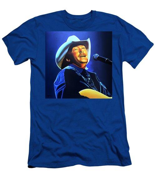 Alan Jackson Painting Men's T-Shirt (Athletic Fit)