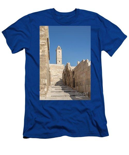 Aleppo Citadel In Syria Men's T-Shirt (Athletic Fit)
