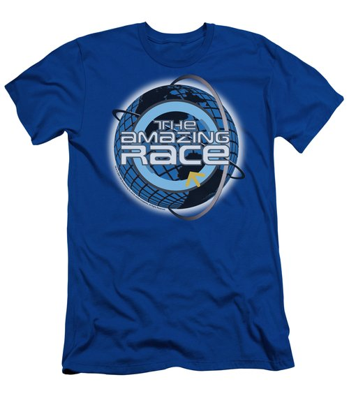 Amazing Race - Around The Globe Men's T-Shirt (Athletic Fit)