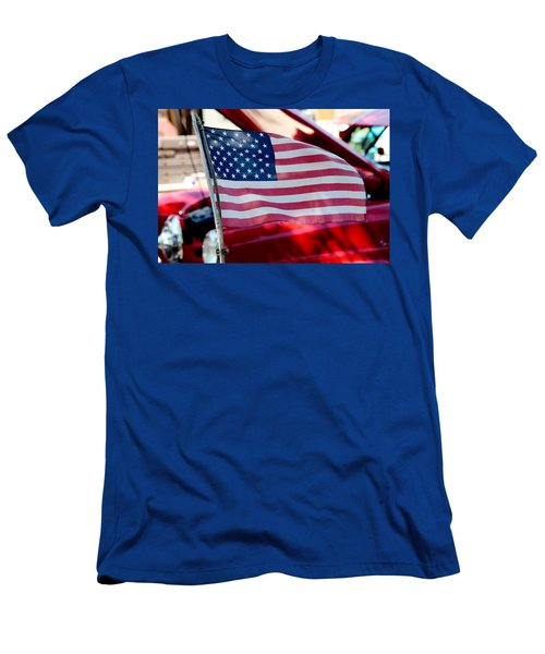 Men's T-Shirt (Slim Fit) featuring the photograph American Dream by Toni Hopper