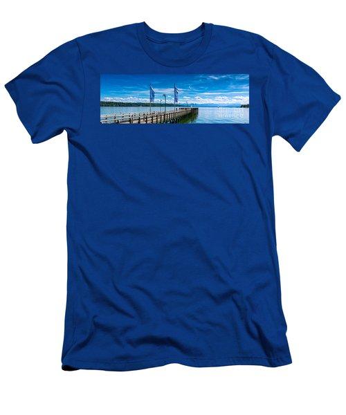 Ammersee - Lake In Bavaria Men's T-Shirt (Slim Fit) by Juergen Klust