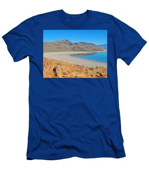 Antelope Island Men's T-Shirt (Athletic Fit)