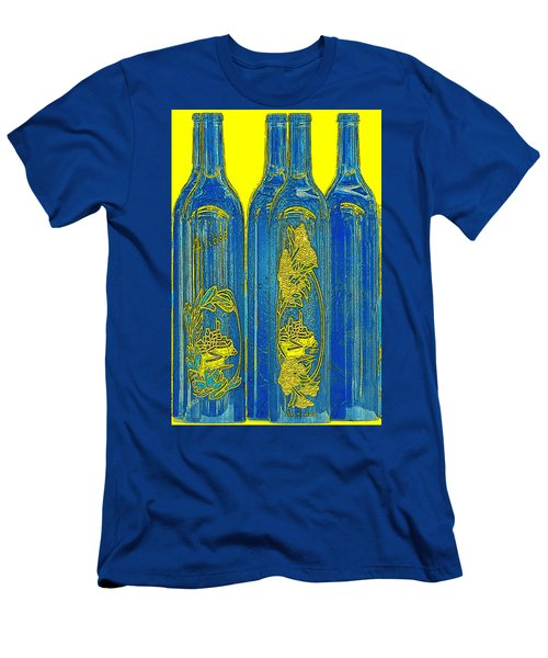 Antibes Blue Bottles Men's T-Shirt (Athletic Fit)