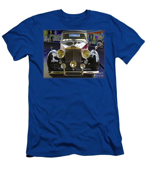 Antique Rolls Royce Men's T-Shirt (Slim Fit)