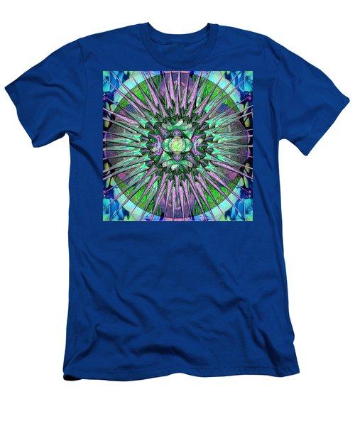Archangels Gather Mandala Men's T-Shirt (Slim Fit) by Michele Avanti