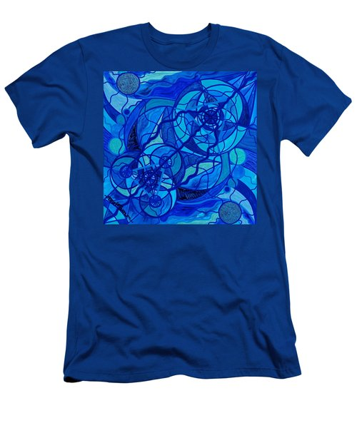 Arcturian Calming Grid Men's T-Shirt (Athletic Fit)