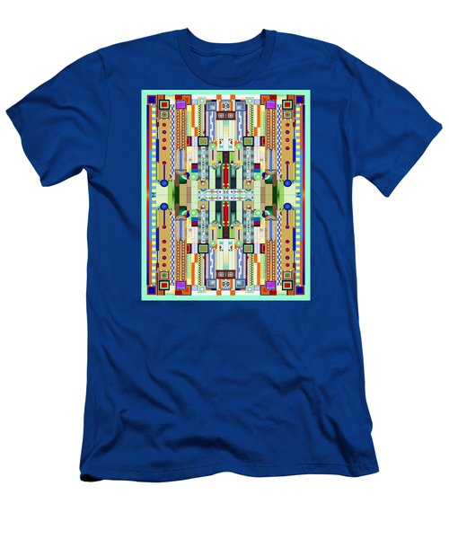 Art Deco Stained Glass 2 Men's T-Shirt (Athletic Fit)
