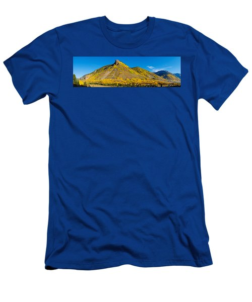 Aspen Trees On Mountain, Anvil Men's T-Shirt (Athletic Fit)