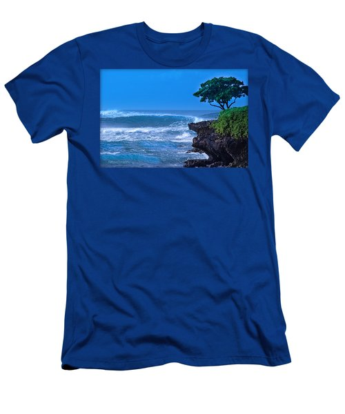 At Peace With The Ocean Men's T-Shirt (Athletic Fit)