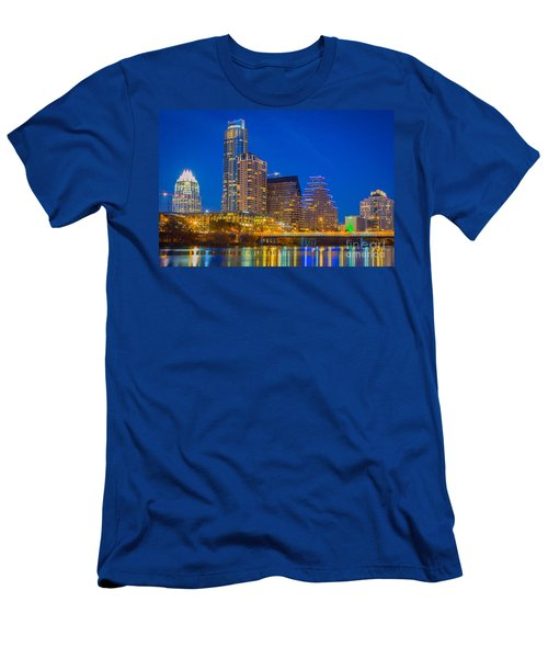 Austin Skyline Men's T-Shirt (Athletic Fit)