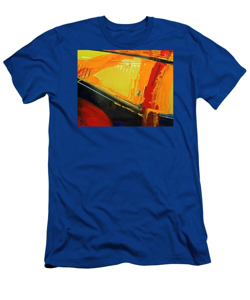 Abstract Composition No 2 Men's T-Shirt (Slim Fit) by Walter Fahmy