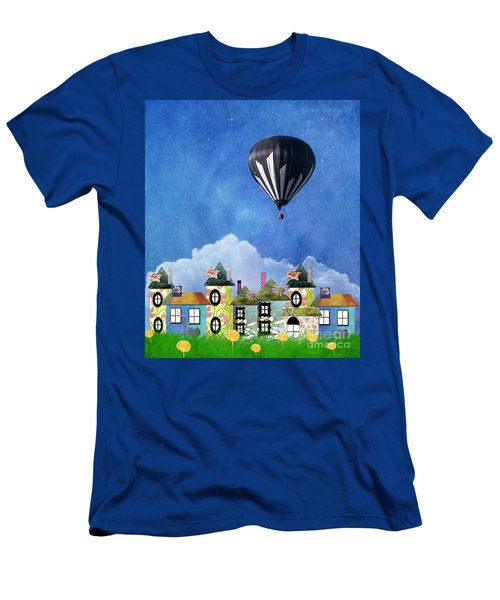 Away Above The Chimney Tops Men's T-Shirt (Athletic Fit)