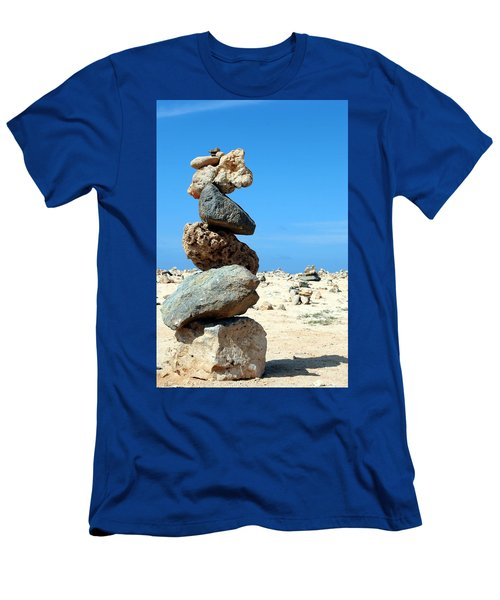 Balancing Act Men's T-Shirt (Athletic Fit)