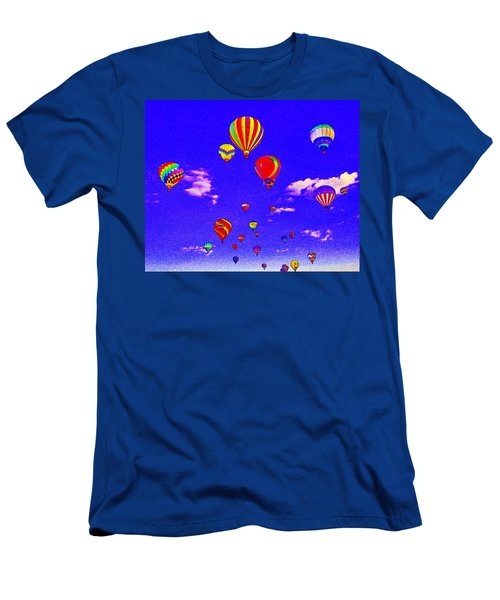Ballon Race Men's T-Shirt (Athletic Fit)