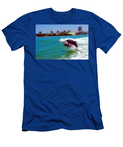 Bay Dolphins Men's T-Shirt (Athletic Fit)