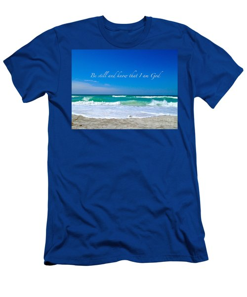 Men's T-Shirt (Slim Fit) featuring the photograph Be Still #4 by Margie Amberge