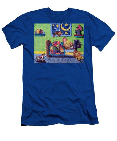 Bedtime Mouse Men's T-Shirt (Athletic Fit)