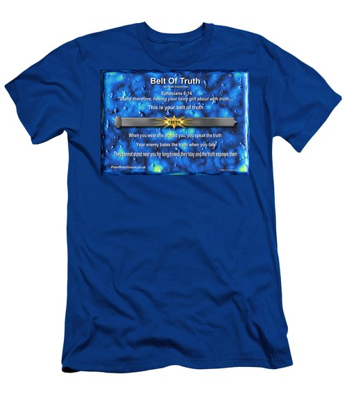 Belt Of Truth Men's T-Shirt (Athletic Fit)