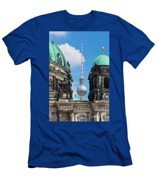 Berlin Catherdral Men's T-Shirt (Athletic Fit)