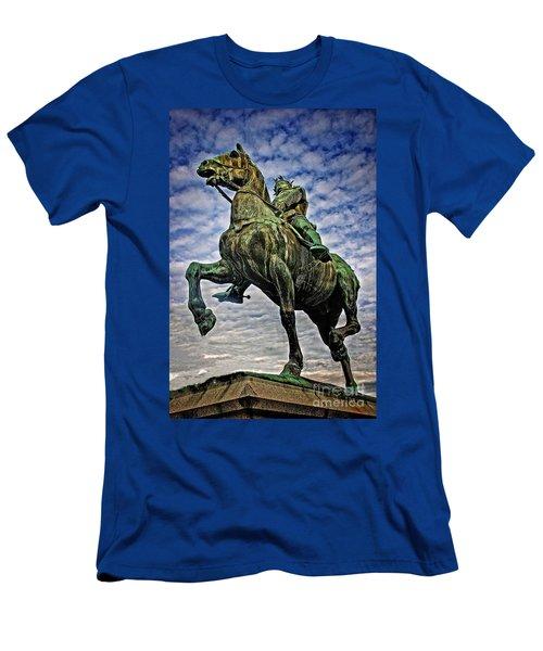 Bertrand Du Guesclin Men's T-Shirt (Slim Fit) by Elf Evans