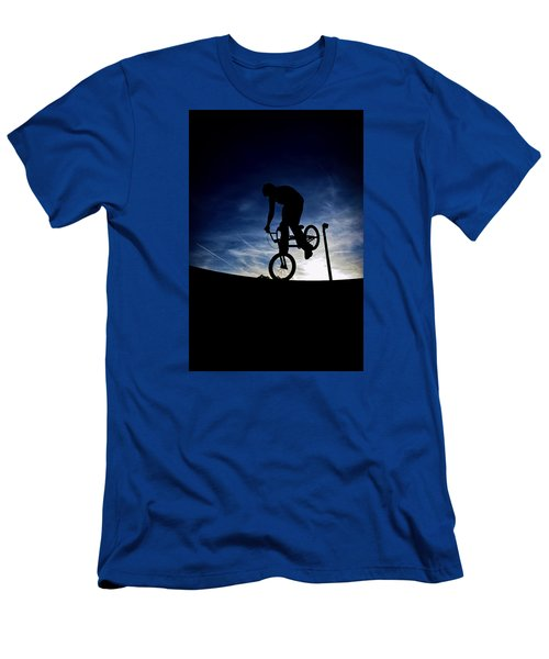 Bike Silhouette Men's T-Shirt (Athletic Fit)