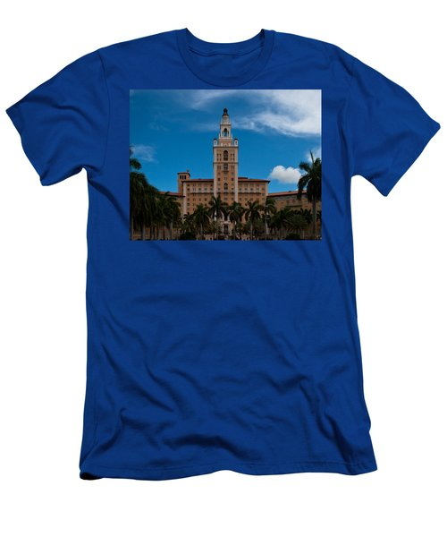 Biltmore Hotel Coral Gables Men's T-Shirt (Athletic Fit)