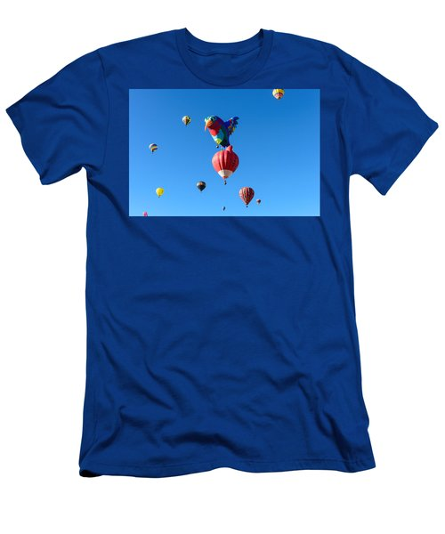 Bird Balloon Men's T-Shirt (Athletic Fit)