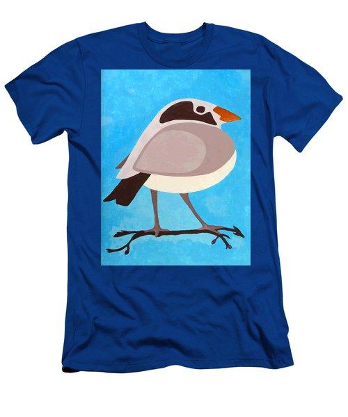 Bird On Branch Men's T-Shirt (Athletic Fit)