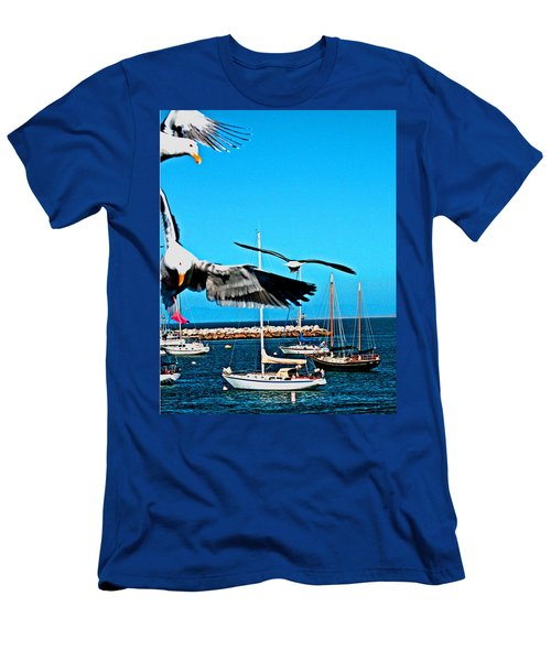Birds In Paradise Men's T-Shirt (Athletic Fit)
