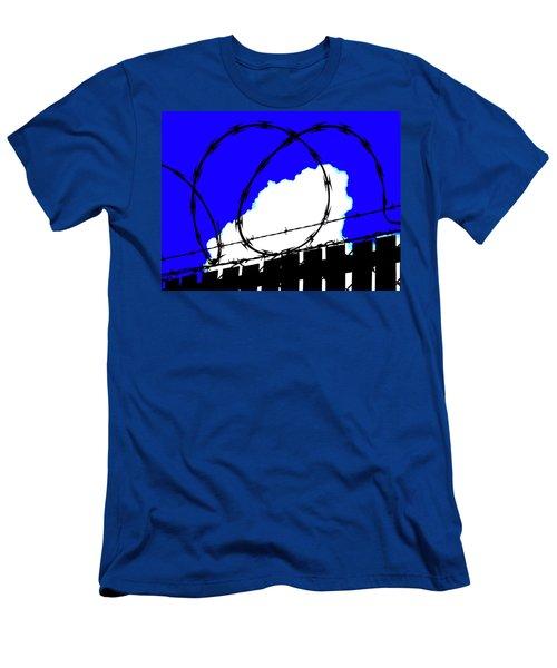 Black Barb Men's T-Shirt (Athletic Fit)