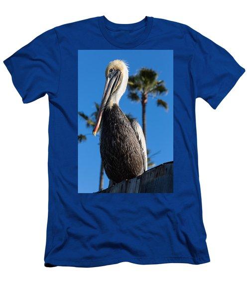 Blond Pelican Men's T-Shirt (Athletic Fit)