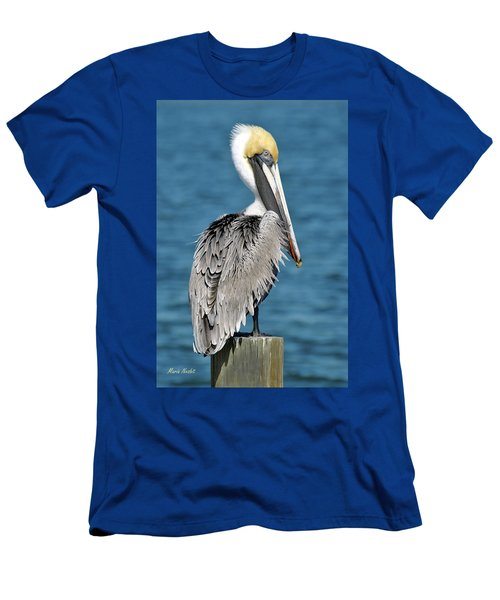 Blue Eyed Blondie Men's T-Shirt (Athletic Fit)