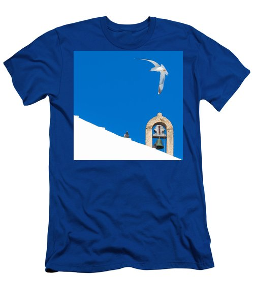 Blue Gull Men's T-Shirt (Athletic Fit)