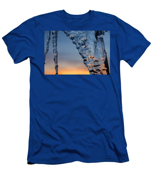 Blue Ice Men's T-Shirt (Athletic Fit)