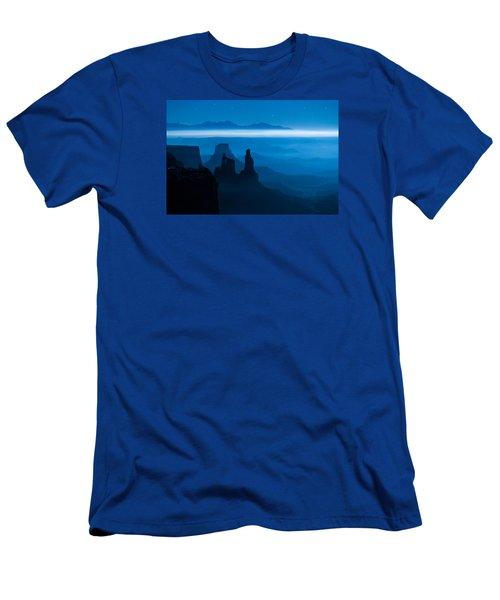 Blue Moon Mesa Men's T-Shirt (Athletic Fit)