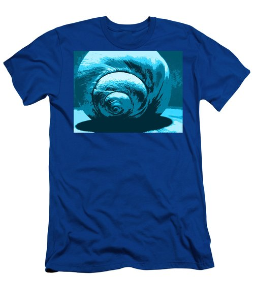 Blue Shell - Sea - Ocean Men's T-Shirt (Athletic Fit)
