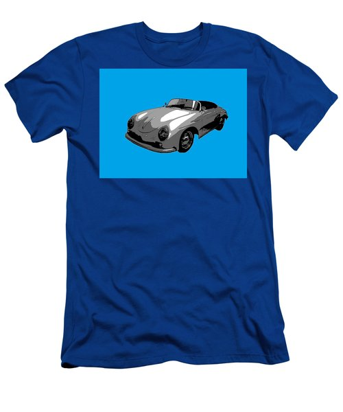 Blue Speedster Men's T-Shirt (Athletic Fit)