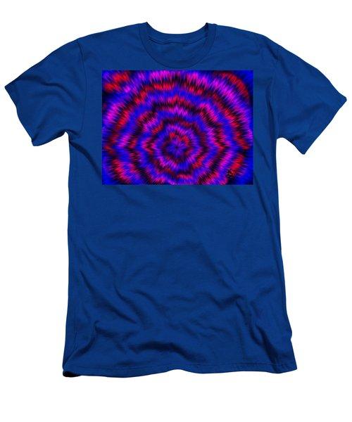 Blue Super Nova Men's T-Shirt (Athletic Fit)