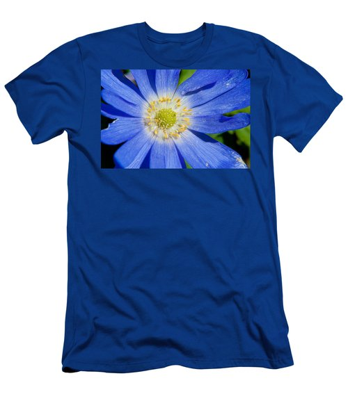 Blue Swan River Daisy Men's T-Shirt (Athletic Fit)