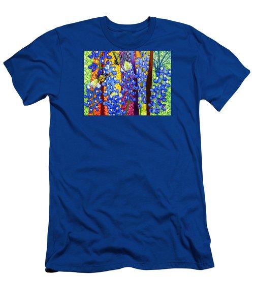 Bluebonnet Garden Men's T-Shirt (Athletic Fit)