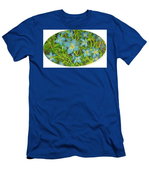 Bluets Of The Shenandoah  Men's T-Shirt (Athletic Fit)