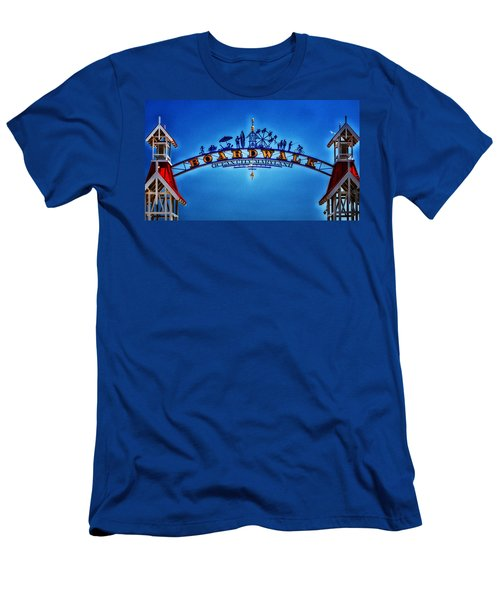 Boardwalk Arch In Ocean City Men's T-Shirt (Athletic Fit)