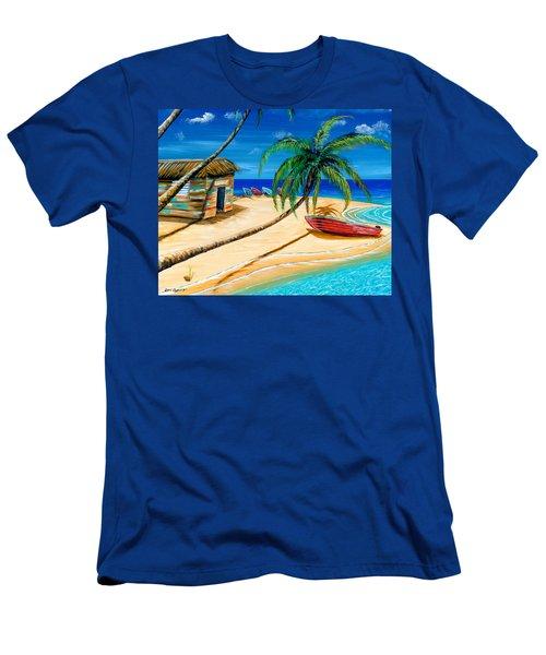 Boat Rent Men's T-Shirt (Slim Fit) by Steve Ozment