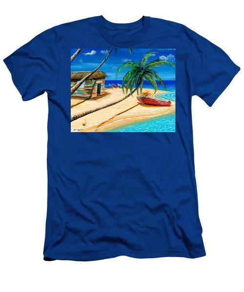 Boat Rent Men's T-Shirt (Athletic Fit)