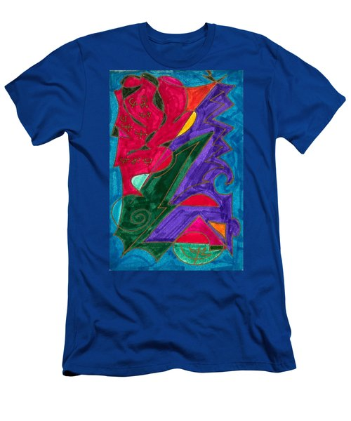 Body Zero # 5 Men's T-Shirt (Slim Fit) by Clarity Artists
