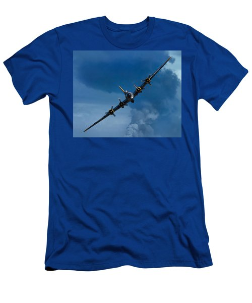 Boeing B-17 Flying Fortress Men's T-Shirt (Athletic Fit)