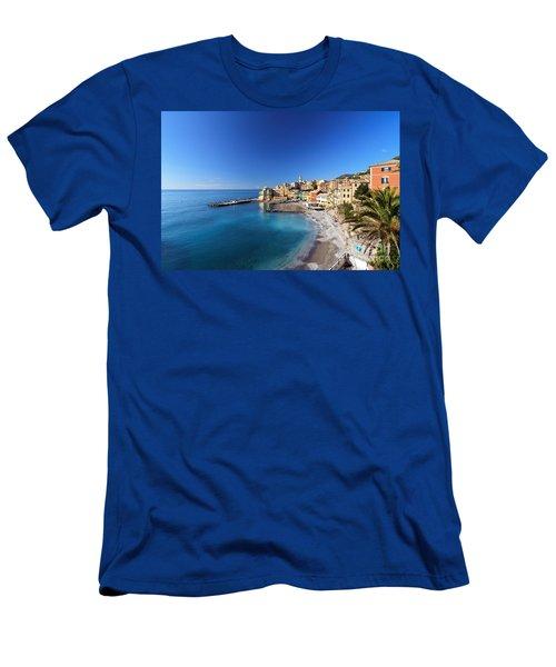 Bogliasco Village. Italy Men's T-Shirt (Athletic Fit)