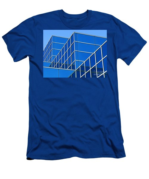 Men's T-Shirt (Slim Fit) featuring the photograph Boldly Blue by Ann Horn